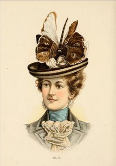 Hats by H O'Neill of New York 1899-1900 Catalogue - Hat No5 | Flickr - Photo Sharing!