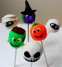 halloween cake pops   Halloween