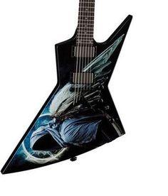 My next guitar. Guitar Pins, Guitar Art, Cool Guitar, Dean Dave Mustaine, Heavy Metal Guitar, Dean Guitars, Guitar Design, Studio Design, Vintage Guitars