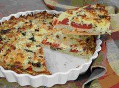 Receita de Quiche de Tomate Seco - quiche para o forno médio por mais 45 minutos, ou até o recheio ficar encorpado e a superfície...
