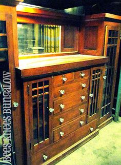 stained kitchen cabinets shop of the crafters five door inlaid china cabinet 2461