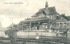 Pietermaritzburg Railway Station, Natal
