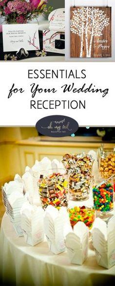 Essentials for Your Wedding Reception  Wedding Reception, How to Plan Your Wedding Reception, Wedding Reception Planning Hacks, Dream Wedding, DIY Wedding Hacks, Wedding Planning Tips, How to Plan a Wedding, Popular Pin