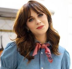 Zooey Deschanel, Hair Dos, Celebs, Image, Beautiful, Google, Style, Icons, Fashion