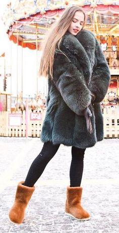 Coat & boots
