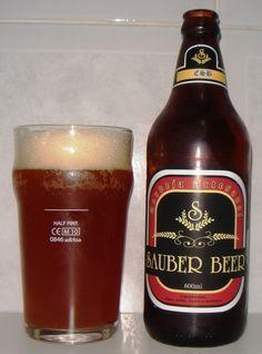 Cerveja Sauber Beer ESB, estilo Extra Special Bitter/English Pale Ale, produzida…
