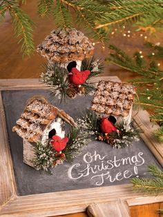 Cardinal Birdhouse Ornaments, Set of 3 | Gardener's Supply