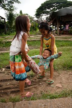 souls-of-my-shoes:    e-xplore:    they're so happy :)    ^it makes ME happy just seeing their joy! Cambodia