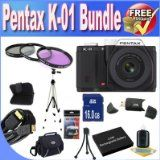 Wholesale Pentax K-01 16MP APS-C CMOS Compact Program Digital camera With eighteen-55mm and 55-200mm Lens (Black) + Extended Life Battery + 16GB SDHC Course ten Memory Card + USB Card Reader + Memory Card Wallet + Deluxe Situation w/Strap + Shock Evidence Deluxe Case + Mini HDMI to HDMI Cable + 3 Piece Specialist Filter Kit + Specialist Entire Measurement Tripod + Accent Saver Bundle! On Line - http://buyingmanual.com/wholesale-pentax-k-01-16mp-aps-c-cmos-compact-program-digi