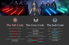 Dropbox The Grey Jedi Code.jpg - Star Wars Vader - Ideas of Star Wars Vader - Dropbox The Grey Jedi Code. Star Wars Comics, Simbolos Star Wars, Nave Star Wars, Star Wars Meme, Star Wars Facts, Star Wars Trivia, Starwars, Peace Is A Lie, Heros Disney