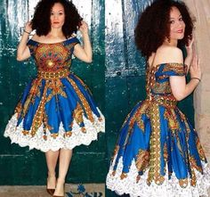 Ankara and Lace Combinations Gown Styles - Scoop.ng