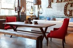 Cisco Brothers Furniture, avail at Port, handmade in Los Angeles!