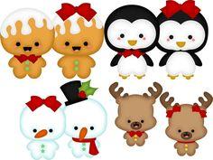 $5.00 SVG Cutting File:Holiday Set -1