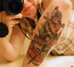 Sushi tattoo.   28 Incredible Tattoos Dedicated ToFood