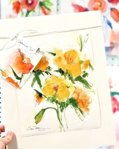 Sunny Delights watercolor for sale