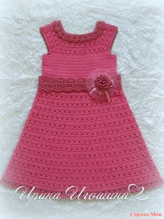 Short special occasion clothes, short sexyhomecoming dresses, and semi-formal stylish dresses. Crochet Toddler, Baby Girl Crochet, Crochet For Kids, Modern Crochet Patterns, Baby Gown, Toddler Dress, Crochet Clothes, Clothing Patterns, Creations