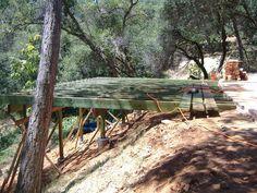Building a 24' x 20' deck on steep slope - Deutsch