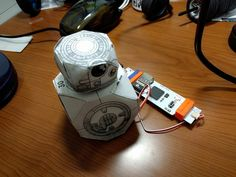 Feel the power of the force, control your own droid with Littlebits, NeuroSky MindWave and IFTTT. I used the Cloudbit and the Maker IFTTT Ch By Ron Dagdag.