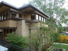 Emil Bach House - Chicago - Frank Lloyd Wright