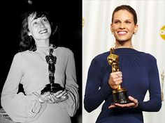 Luise Rainer (1937)~ Hillary Swank (2005)