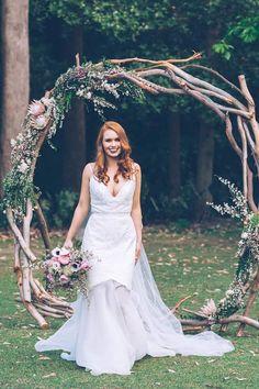 Modern Rustic Wedding Inspiration | Kristie Carrick Photography