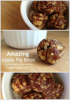 Amazing Apple Pie Bites #raw #larabar #applecinnamon