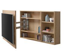 Tv Cabinet Design, Tv Unit Design, Tv Wall Cabinets, Bedroom Tv Wall, Rack Tv, Tv Stand Designs, Living Room Tv Unit, Muebles Living, Tv Furniture