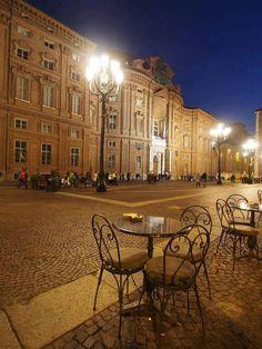 Piazza Carignano-Torino Italy