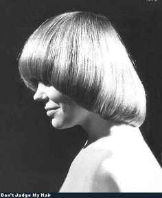 70's bowl cut