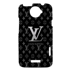 Louis Vuitton Pattern HTC One X Hardshell Case Cover - PDA Accessories