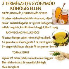 ❤ 3 természetes Gyógymód köhögés ellen Health Tips, Health And Wellness, Health Care, Health Fitness, Health Promotion, Doterra, Home Remedies, Healthy Lifestyle, Food And Drink