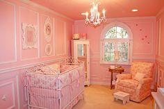 Classic, Elegant Pink Nursery by Jack and Jill Interiors {@nurserydesigner}