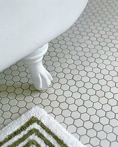 Hexagon Floor Tile | 36 Bathroom Flooring Ideas | Interior Design Ideas, Cool Interior ...