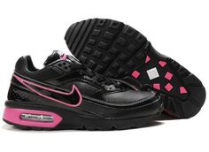 sale retailer 503be d13db Chaussures Nike Air Classic BW Noir  Rose -   Nike Chaussure Pas Cher,Nike  Blazer and Timerland