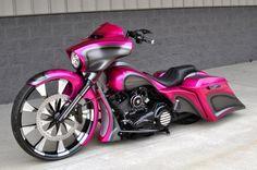 Pink Street Glide - Harley Davidson Wallpaper ID 2008205 - Desktop Nexus Motorcycles
