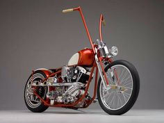 Shovelhead with Ape Hangers