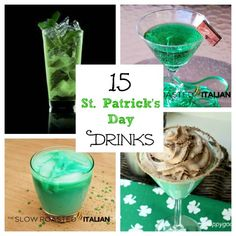 I love a good drink for St. Patrick's Day. While I'm not always into the GREEN drinks, sometimes they are can totally delicious. But let's not forget that Guinness, Irish cream, and some good Irish whiskey can give any one a wee bit o' the green on St. Patty's Day. After years of bartending, Mike …