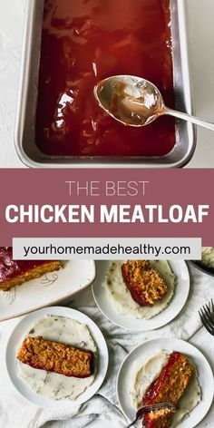 This is not your grandma's average meatloaf recipe! Healthy chicken meatloaf with hidden veggies is an excellent dinner to serve your entire family. It utilizes fresh and healthy ingredients, so you know your family will be eating a delicious, yet nutritious meal. You can easily substitute the ground chicken for ground turkey. With the added vegetables, it stays soft and moist with the best punch of flavor. Ground Chicken Meatloaf, Ground Chicken Recipes, Healthy Chicken Recipes, Healthy Dinner Recipes, Hidden Veggies, Asian Cooking, Ground Turkey, Nutritious Meals, Punch