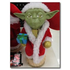 Yoda Claus. Photo by Frederick Meekins