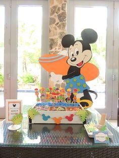 Micky Luau Party!