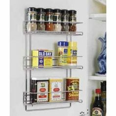 spice racks. Def gonna buy these when we get a house. good for bathroom organization too. lovee.
