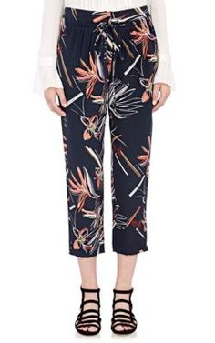MAIYET Silk Drawstring Slouch Pants. #maiyet #cloth #pants