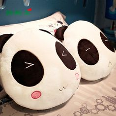 pillow of panda couples