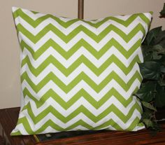 2  Throw pillow cover chevron print / zig by SimpleSouthernCharm, $24.00