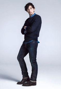 'Girls' star Adam Driver scores Gap campaign and Vogue editorial | ...