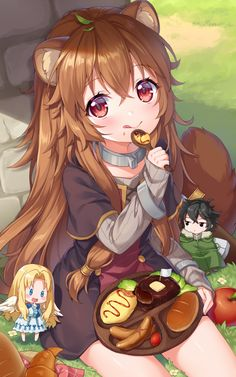 Little Raphtalia [Tate no Yuusha no Nariagari] Neko Kawaii, Lolis Neko, Loli Kawaii, Kawaii Anime Girl, Anime Art Girl, Anime Girls, Anime Neko, Film Anime, Art Manga