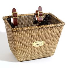 Nantucket Bicycle Basket. Would love to have the chance to use it there!