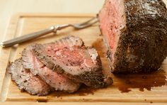 Enjoy this sweet and peppery beef with baked sweet potatoes or roasted broccoli. Leftover beef makes great roast beef sandwiches.