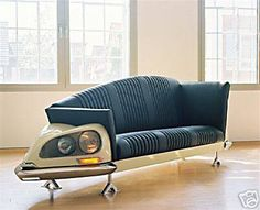 Citroën DS sofa (fore)