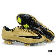 online store 16649 68828 Nike CR7 Mercurial 2012 Vapor Superfly III FG TPU Soccer Cleats Leopard  Gold Black  54.69